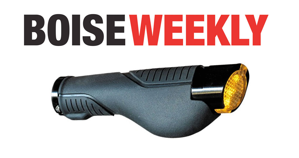 Boise Weekly on the Firefly Turn-Signal Bike Grips