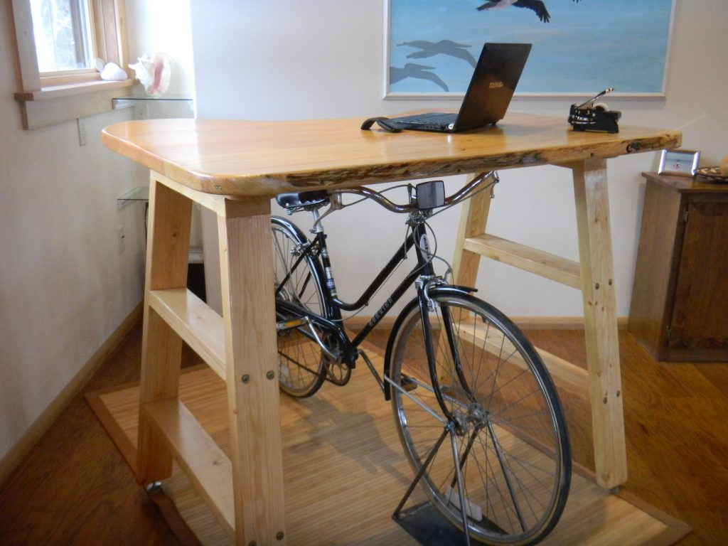 Introducing The Bicycle Desk From Rideout Technologies