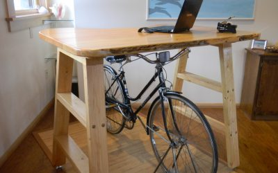 RideOut Technologies' Bicycle Desk