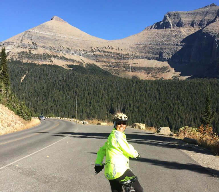 Bike Riding in Glacier National Park