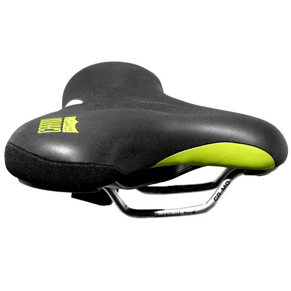 Green Carbon Comfort - The Most Comfortable Bike Seat