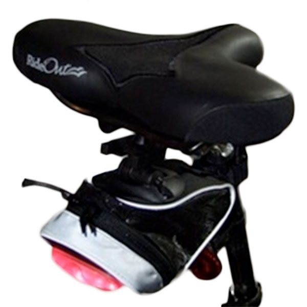 Storm Quest Bike Saddle With Touring Bag