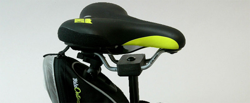 Green Carbon Comfort Comfortable Bike Seat