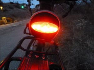 Imortant Rear Bike Safety Light