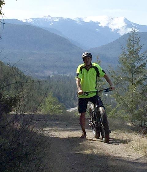 Montana Rides Mountain Biker