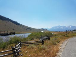 Bike Riding in the Idaho Mountains
