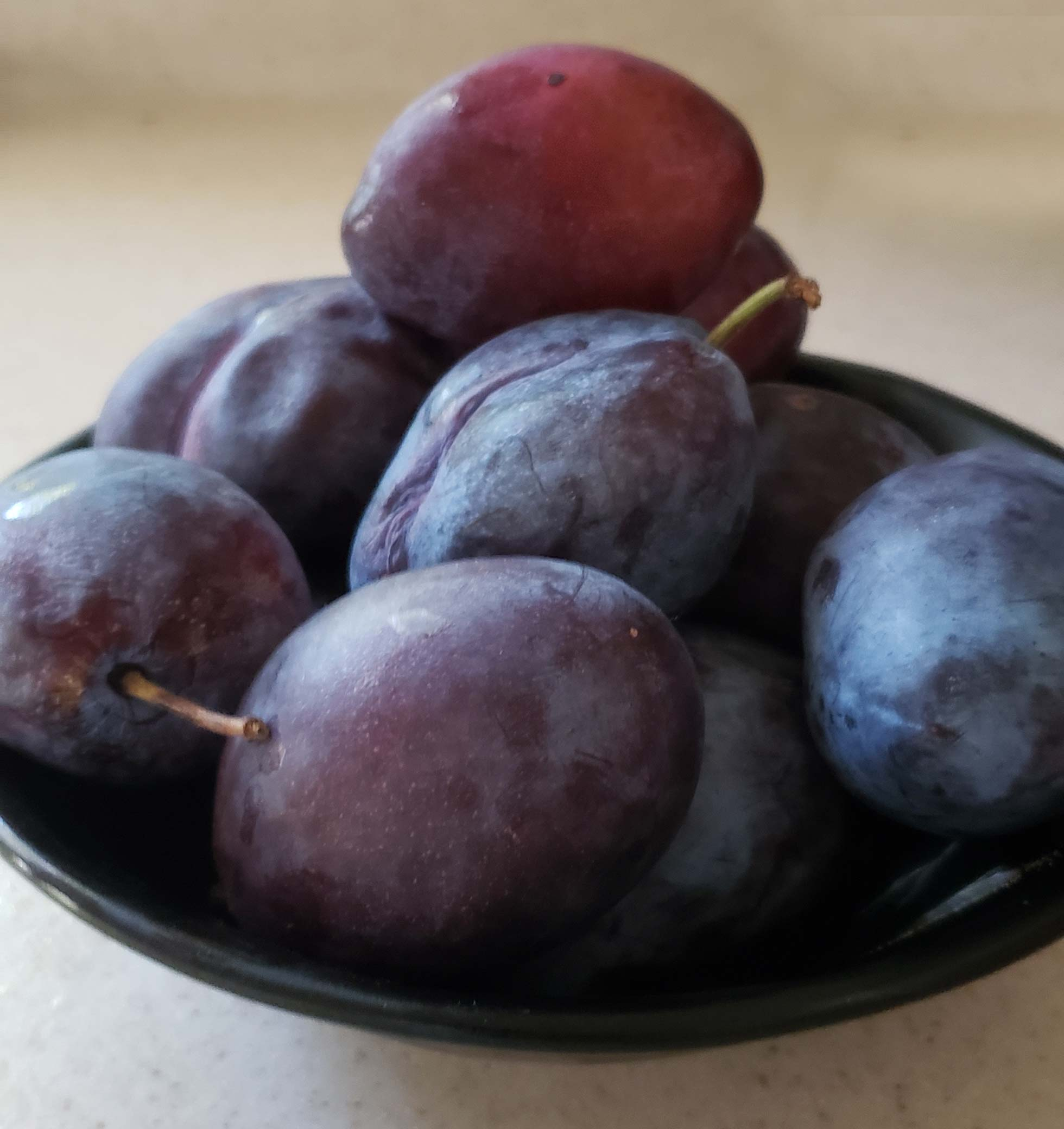 Hard Cider Plums